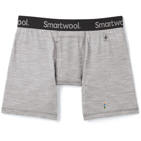 Smartwool Merino 150 Boxershorts Heren, light gray heather